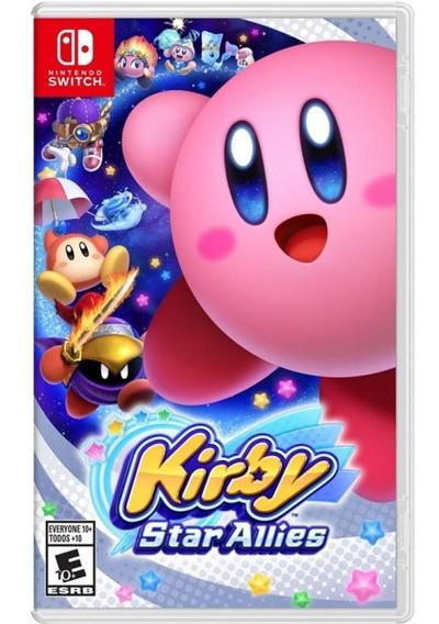 Kirby Star Allies Switch Novo Mídia Física Pronta Entrega