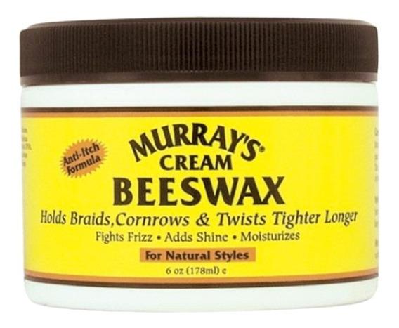 Murrays Cream Beeswax Cera Para Cabello 6oz