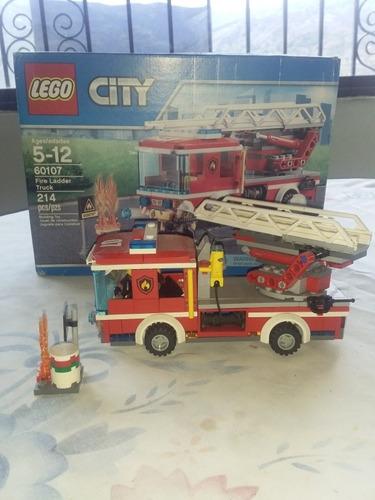 Lego City Bomberos Y Demás Accesorios