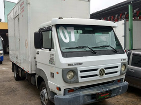Volkswagen Vw 8150 Delivery Baú Porta Lateral 2007