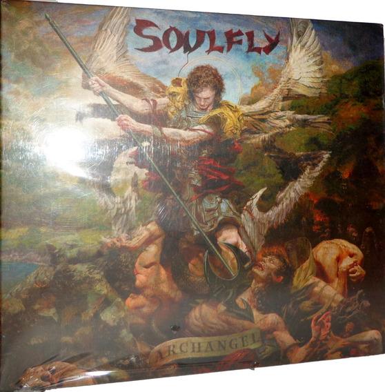 Cd + Dvd Soulfly - Archangel
