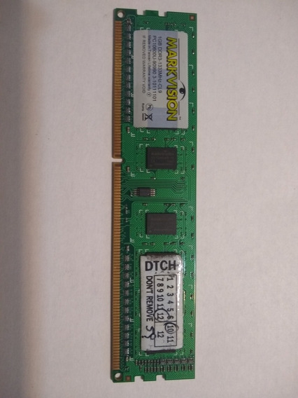 Memoria Ram Markvision 1gb Ddr3 1333 Mhz