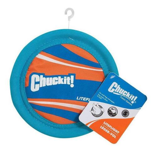 Imagem 1 de 5 de Brinquedo De Cachorro Disco Frisbee Lite Flight P Chuckit