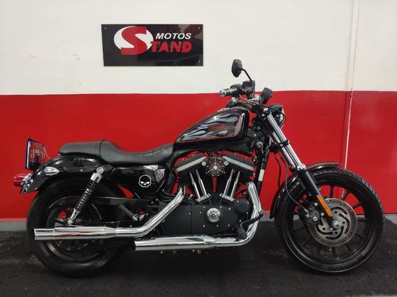 Harley Davidson Sportster Xl 883 R 2012 Preta Preto