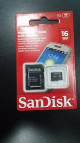 Cartão De Memoria Sandisk - 16gb