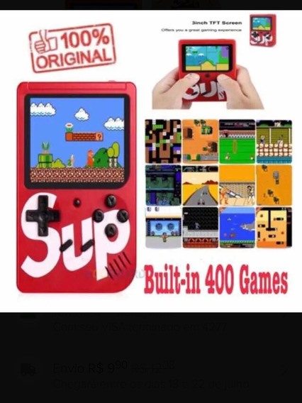 Game Boy, Retrô Vídeo Game 400 Jogos Sup