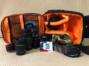 Canon 70d ( Lente 18-5mm + Ultrasonic 75-300 )