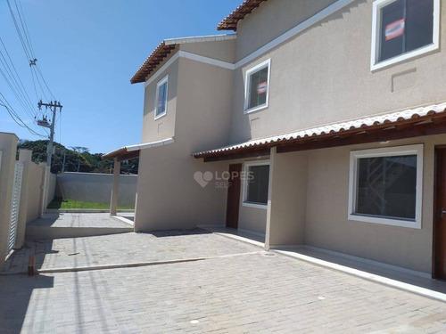 Imagem 1 de 13 de Casa Com 2 Quartos Por R$ 210.000 - Itaipuaçu - Maricá/rj - Ca20769