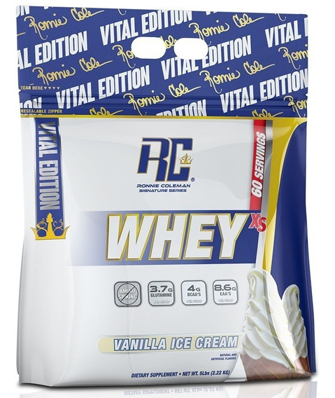 Proteina Ronnie Coleman Whey Xs 5 Lbs
