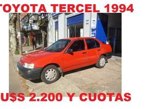 Toyota Tercel Imperdible Oportunidad!!!