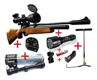 Rifle Pcp Pr900 +bombín+mira+linterna+cargador+envio Gratis