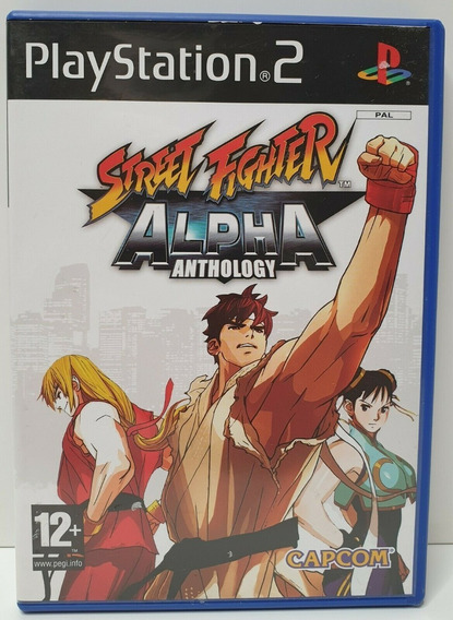 Ps2 - Street Fighter Alpha Anthology (europeu)
