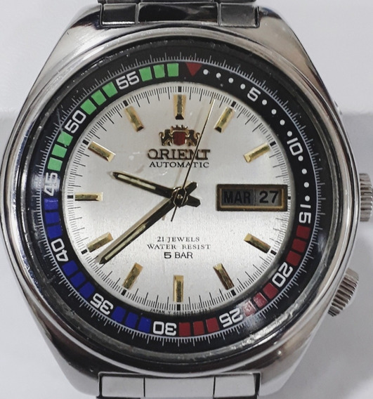 Relógio Orient 5bar Três Chaves Automático