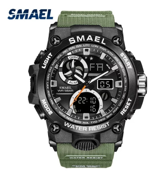 Relógio Masculino Smael Shock Esportivo Prova D