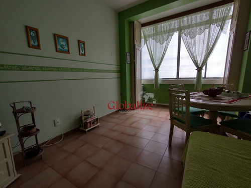 Kitnet À Venda, 26 M² Por R$ 180.000,00 - Boqueirão - Santos/sp - Kn0032