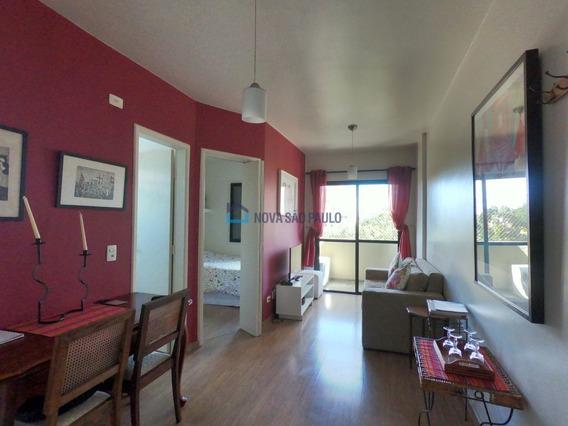 Apartamento De 1 Dormitório - 35m² Moema Indios - Bi25354