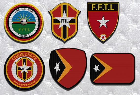 Parche Termoadhesivo Escudo Seleccion Timor Oriental Varios