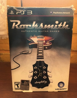 Rocksmith Ps3 + Cable Real Tone Original