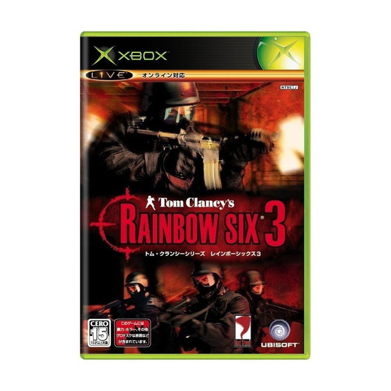 Tom Clancys Rainbow Six 3 Raven Shield Xbox Japonês Física