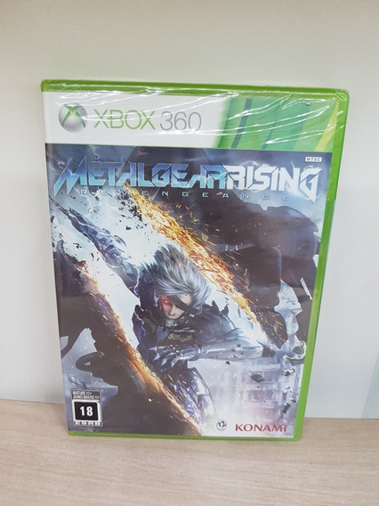 Metal Gear Rising Revengeance Xbox 360 Lacrado Midia Fisica