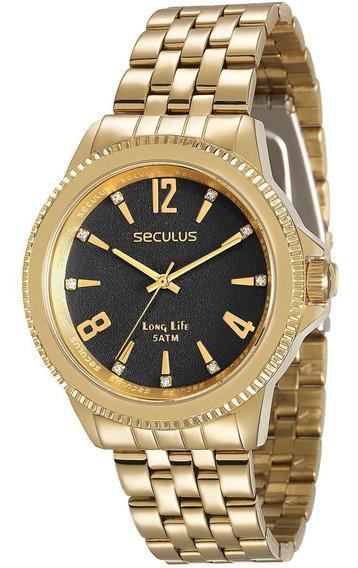 Relógio Seculus Feminino 28664lpsvda4