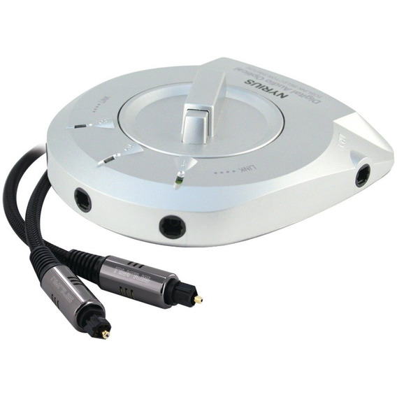 Selector De Audio Optico Digital De 1 A 3 Vias Nayrius Sw100