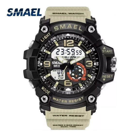 Relógio Militar S Shock Smael 1617 A Prova D