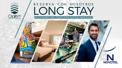 Imagen 1 de 6 de Arrienda Una Habitación Long Stay Novotel Las Condes