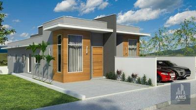 Casa Com 3 Dormitórios À Venda, 90 M² Por R$ 395.000 - Jardim Dos Pinheiros - Atibaia/sp - Ca0617
