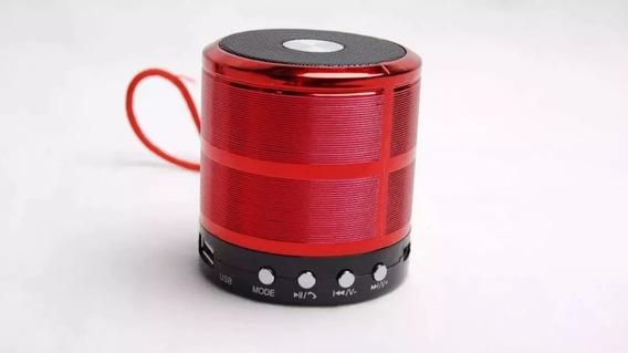 Caixa De Som Bluetooth Ws 887 Speaker.usb Kit 20 Peças
