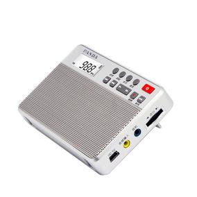 Rádio Receptor Panda 6207 Am/fm Dsp Leitor Mp3 Cartão Tf