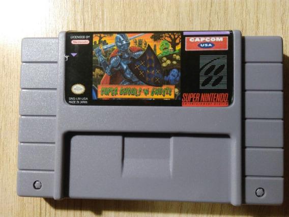 Super Ghouls N Ghosts Super Nintendo Snes