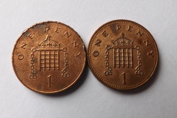 Moeda One Penny 1989 - Moedas no Mercado Livre Brasil