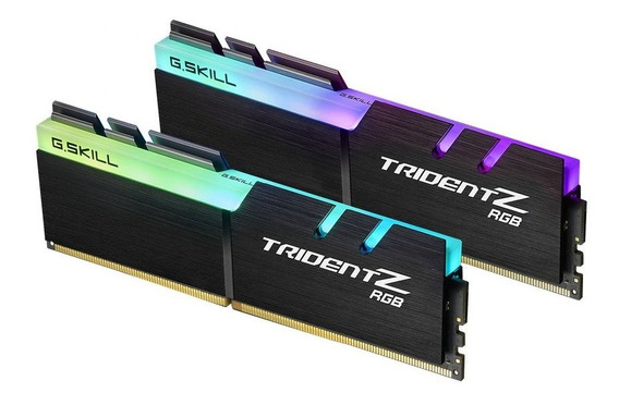 Memoria Ram 16gb G.skill Tridentz Rgb Series (2 X 8gb) 288-pin Ddr4 3000mhz (pc4 24000) Modelo F4-3000c16d-16gtzr