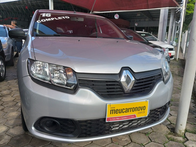 Renault Sandero 1.0 16v Authentique Plus Hi-flex 5p 2016