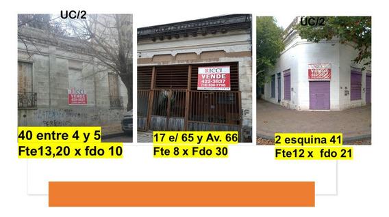 Venta Terrenos Y Casa . Zona Norte. La Plata Zona Uc2