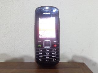 Celular Nokia 1661 Com Lanterna+radio,fala A Hora Usado- Tim