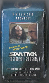 Star Trek - Customizable Card Game - Pack + 5 Cards Premium.