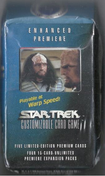 Star Trek - Customizable Card Game - Pack + 5 Cards Premium.