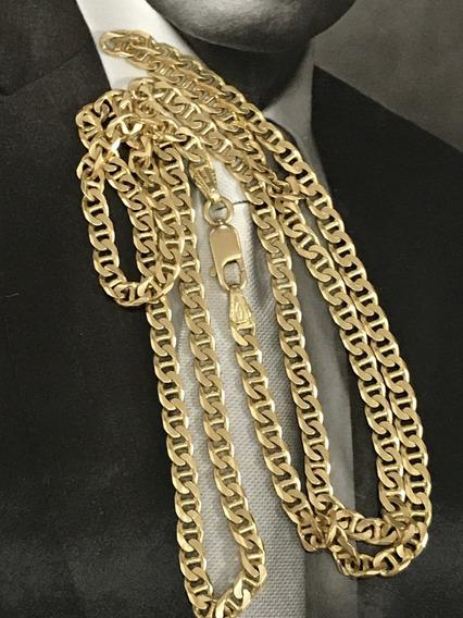 Corrente De Grif Em Ouro 18k-750, Unissex, Peso 20,4 Gramas