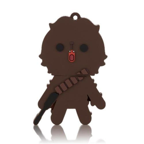 Pen Drive 8 Gb - Multilaser - Star Wars - Chewbacca - Pd041