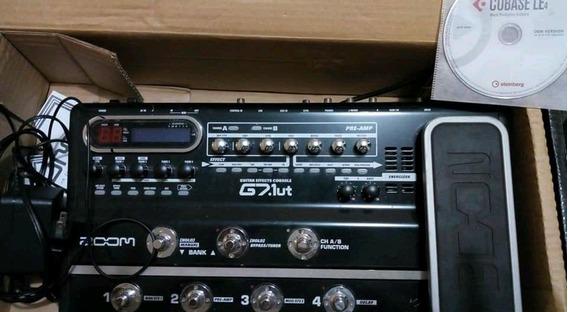 Zoom G7.1ut - Caixa, Manual E Software
