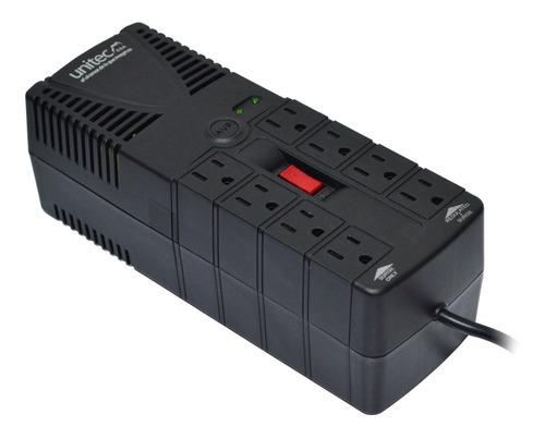 Regulador Automático De Voltaje 1200va · 8 Tomas Protegidas