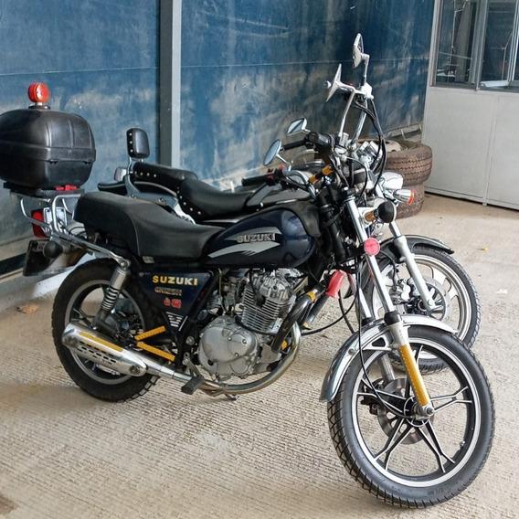 Moto Suzuki Gn125h En Excelente Estado