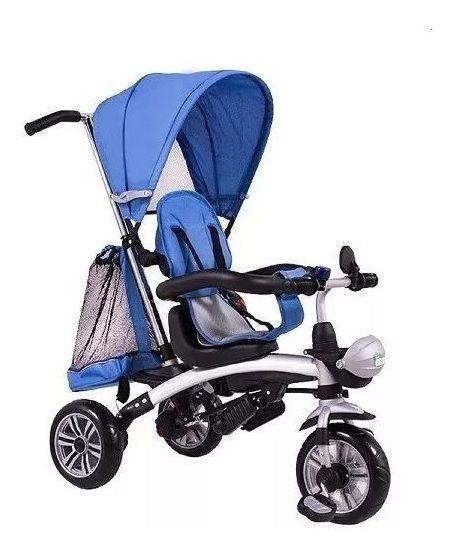 Carrinho / Triciclo Bebe (infantil) 3 Em 1 Multifuncional