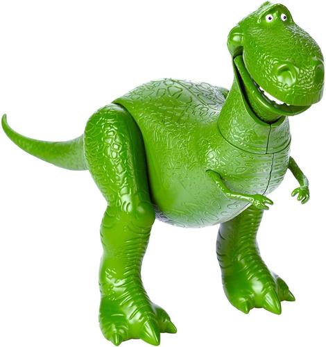 Imagen 1 de 7 de Juguete Rex Dinosaurio Toy Story 24 Cm Dino Articulado
