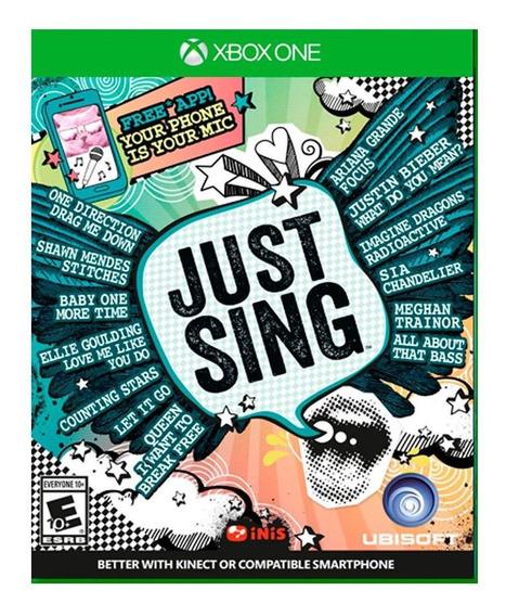 Juego Xbox One Game Just Sing Ibushak Gaming