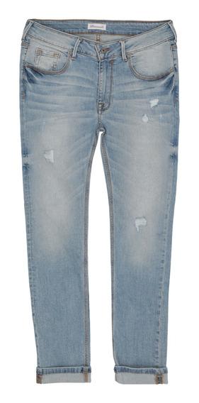 Jeans Corte Super Skinny Stretch De Hombre C&a 1053458