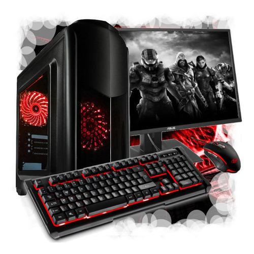 Pc Gamer Amd A6 7480, Monitor 19 , Com Jogos Gratis.