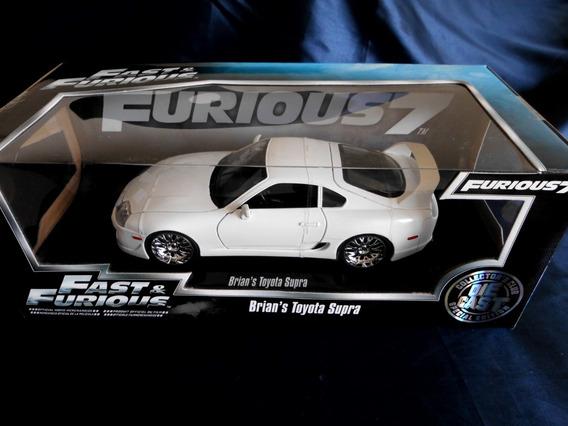 Brian`s Toyota Supra Fast & Furious 7, 1:18. Nuevo!!!